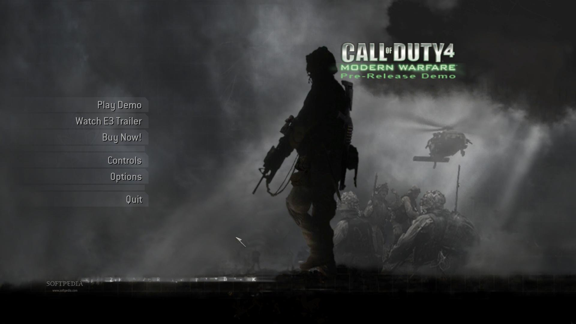 Call Of Duty 4 Modern Warfare Demo Download