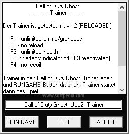 Call of Duty Ghosts +4 Trainer for 1 0 Download