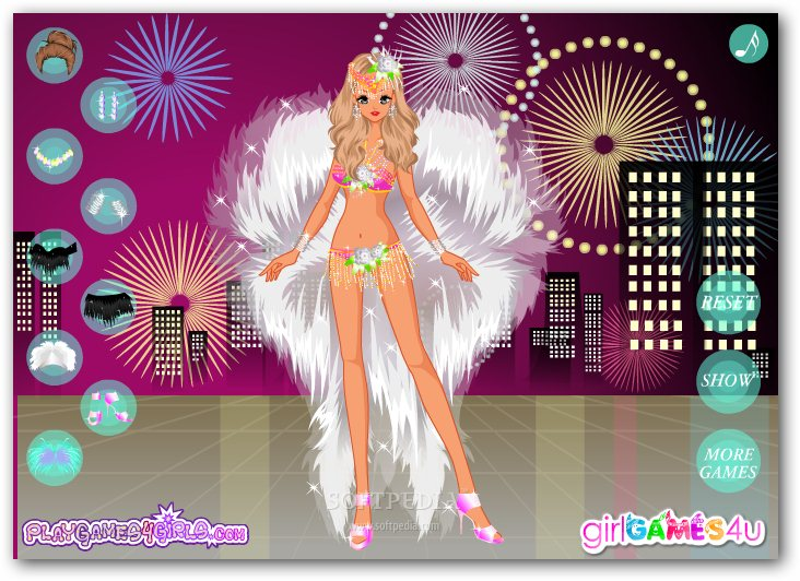 Carnival Dancing Girl Dress Up screenshot 2