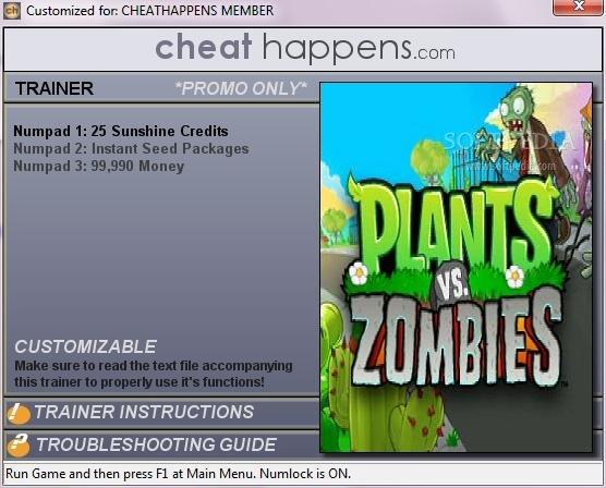 Plants vs Zombies Trainer