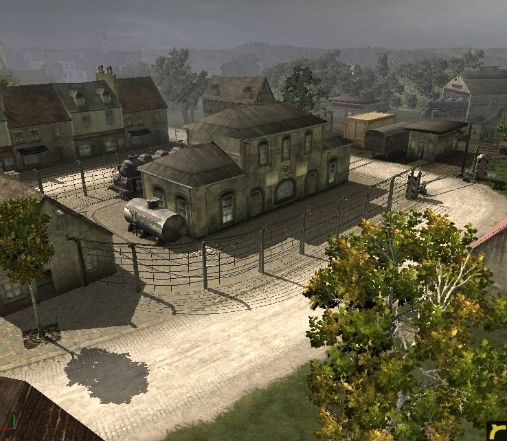 Company of Heroes Map - Blueriver Island screenshot 2