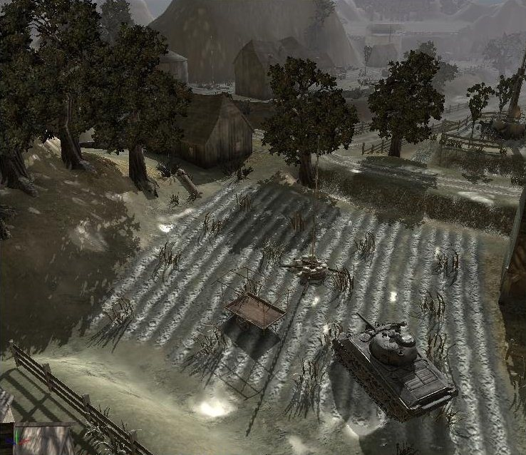 Company of Heroes Map - Pantano screenshot 1