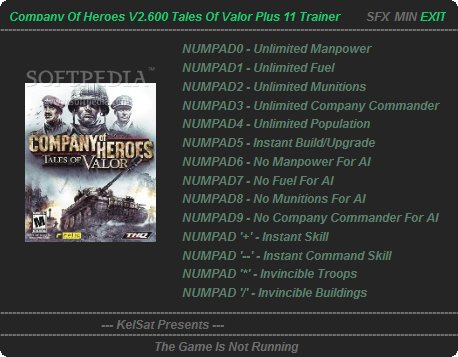 Company Of Heroes Opposing Fronts 11 Trainer For 2 600 Download