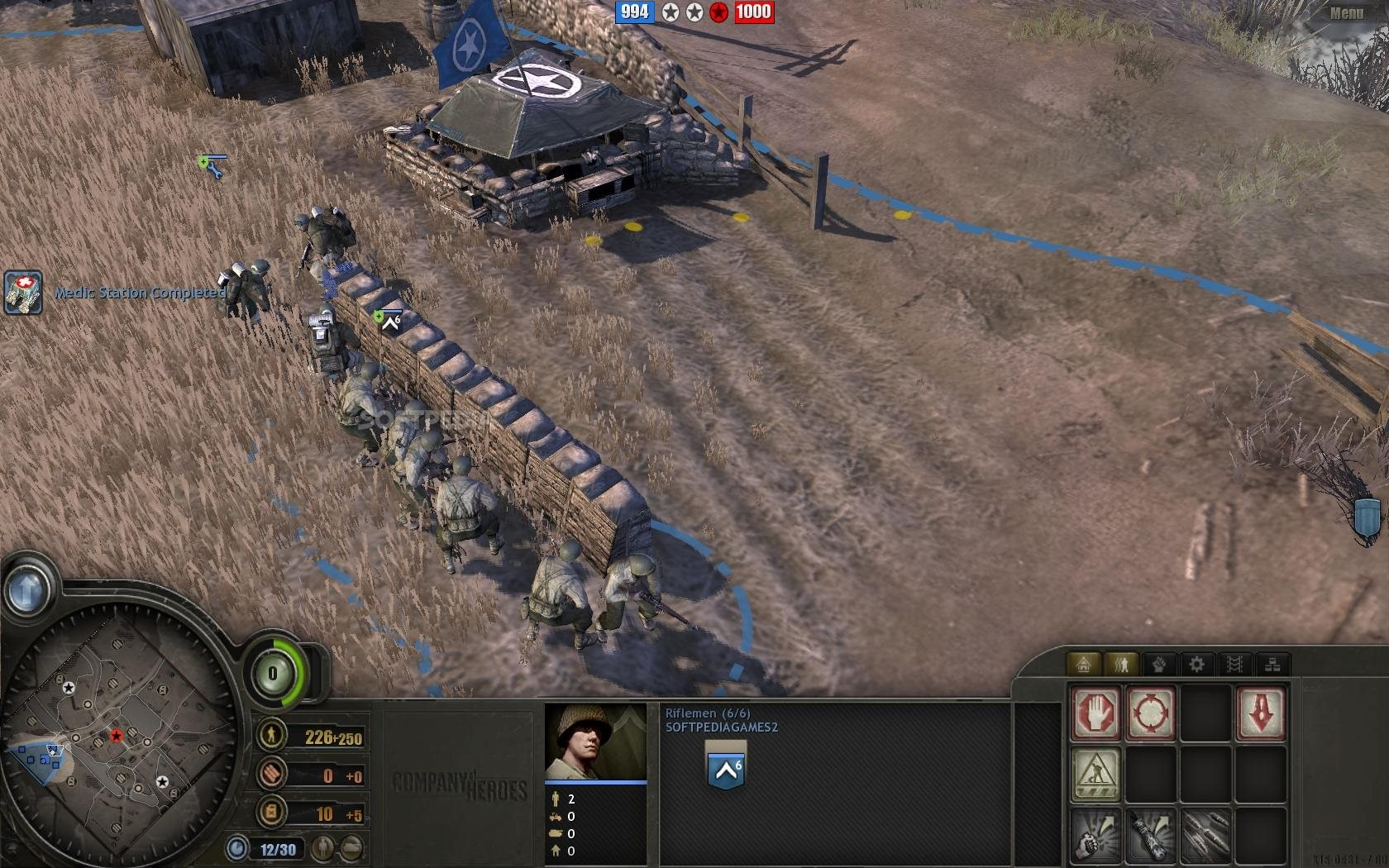 Company of Heroes Single Player Hands-on - IGN