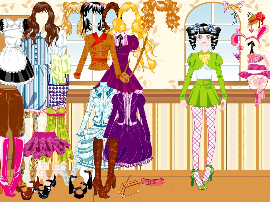 Costuming Dress Up screenshot 2