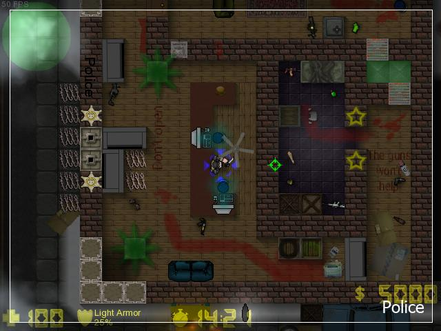 Counter-Strike 2D Map - Zm_Polyarka screenshot 2