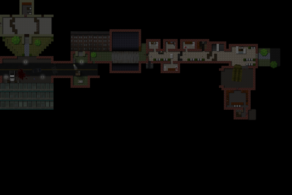 Counter-Strike 2D Map - Zombified City screenshot 3