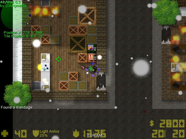 Counter-Strike 2D Map - adv_alpinezombie screenshot 1