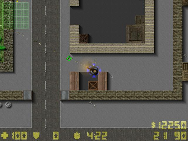 Counter-Strike 2D Map - cs_compound screenshot 2
