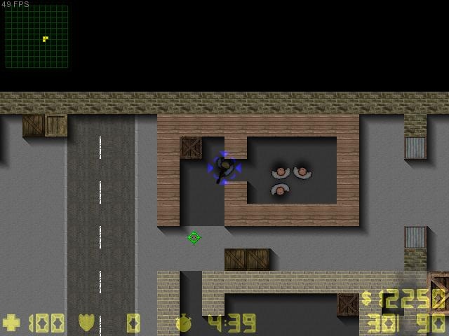Counter-Strike 2D Map - cs_compound screenshot 3