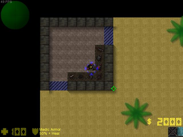 Counter-Strike 2D Map - dm_nanowar screenshot 1