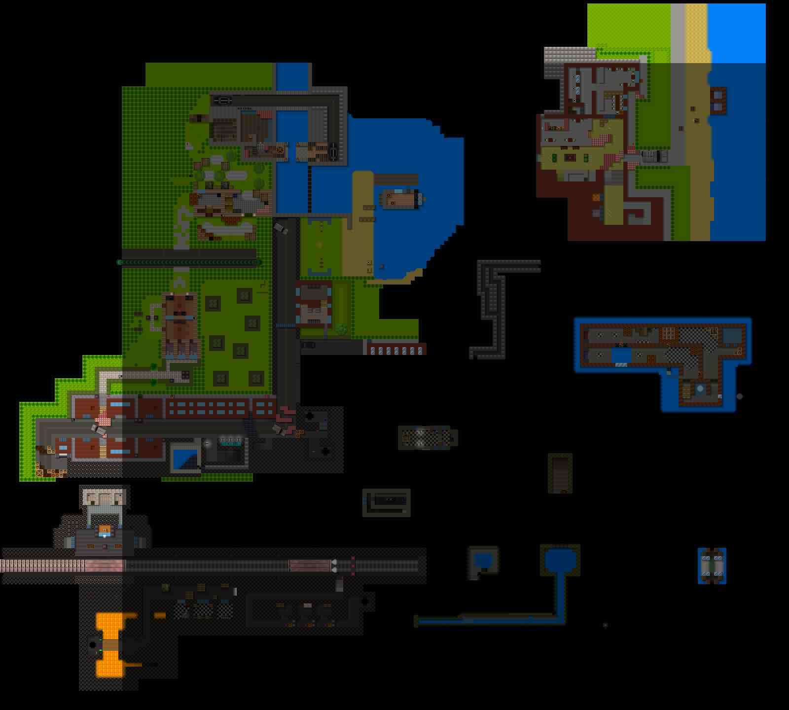 Counter-Strike 2D Map - es_summer_city screenshot 1