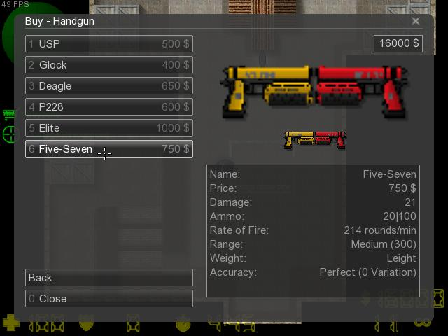 Counter-Strike 2D Skin - CSO Dual Infinity screenshot 1