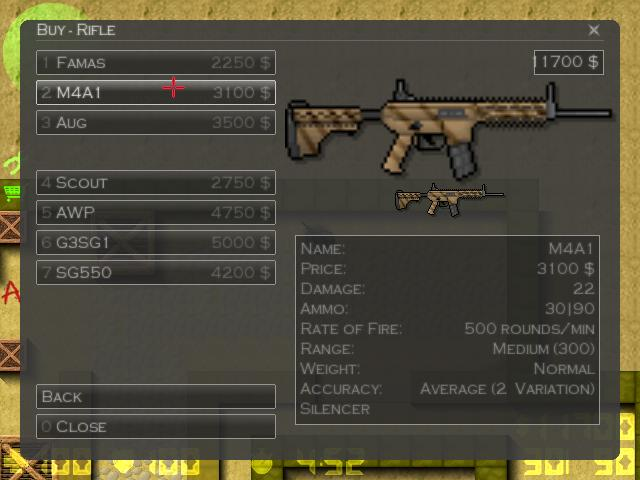 Counter-Strike 2D Skin - Cm901 Modular Rifle screenshot 1