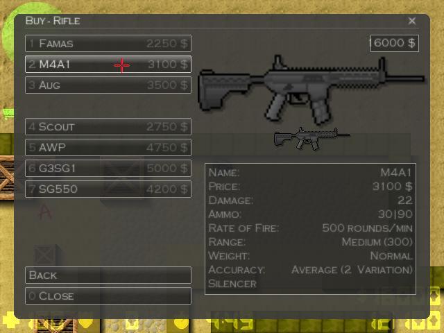 Counter-Strike 2D Skin - Cm901 Modular Rifle screenshot 2