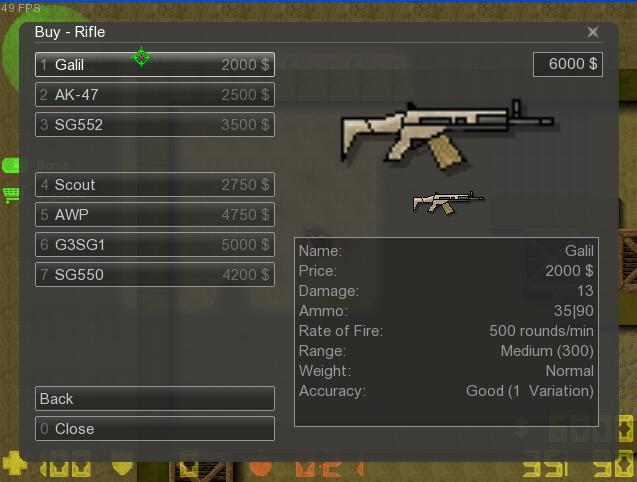 Counter-Strike 2D Skin - FN Scar Light screenshot 1