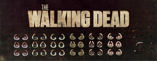 Counter-Strike 2D Skin - The Walking Dead Pack screenshot 1