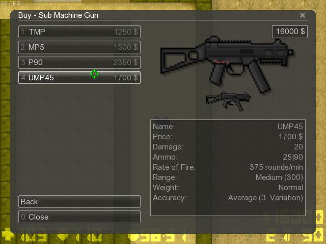 Counter-Strike 2D Skin - Ump45 screenshot 1