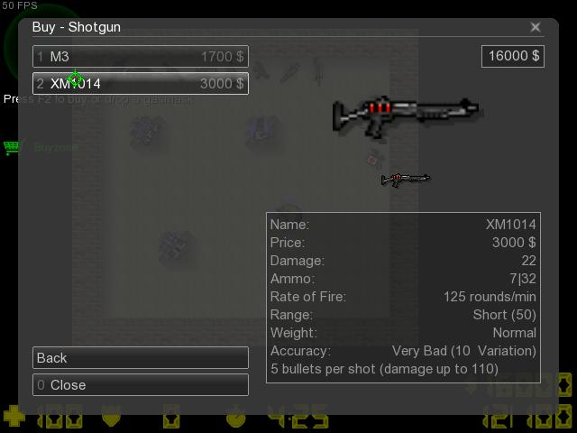 Counter-Strike 2D Skin - Weapons Pack screenshot 1