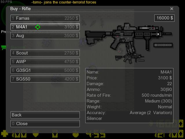 Counter-Strike 2D Skin - Weapons Pack screenshot 3