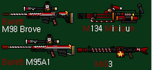 Counter-Strike 2D Skin - X-mas Edtion Weapon Pack screenshot 1