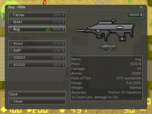 Counter-Strike 2D Skin - XM29 [20mm semi] screenshot 1
