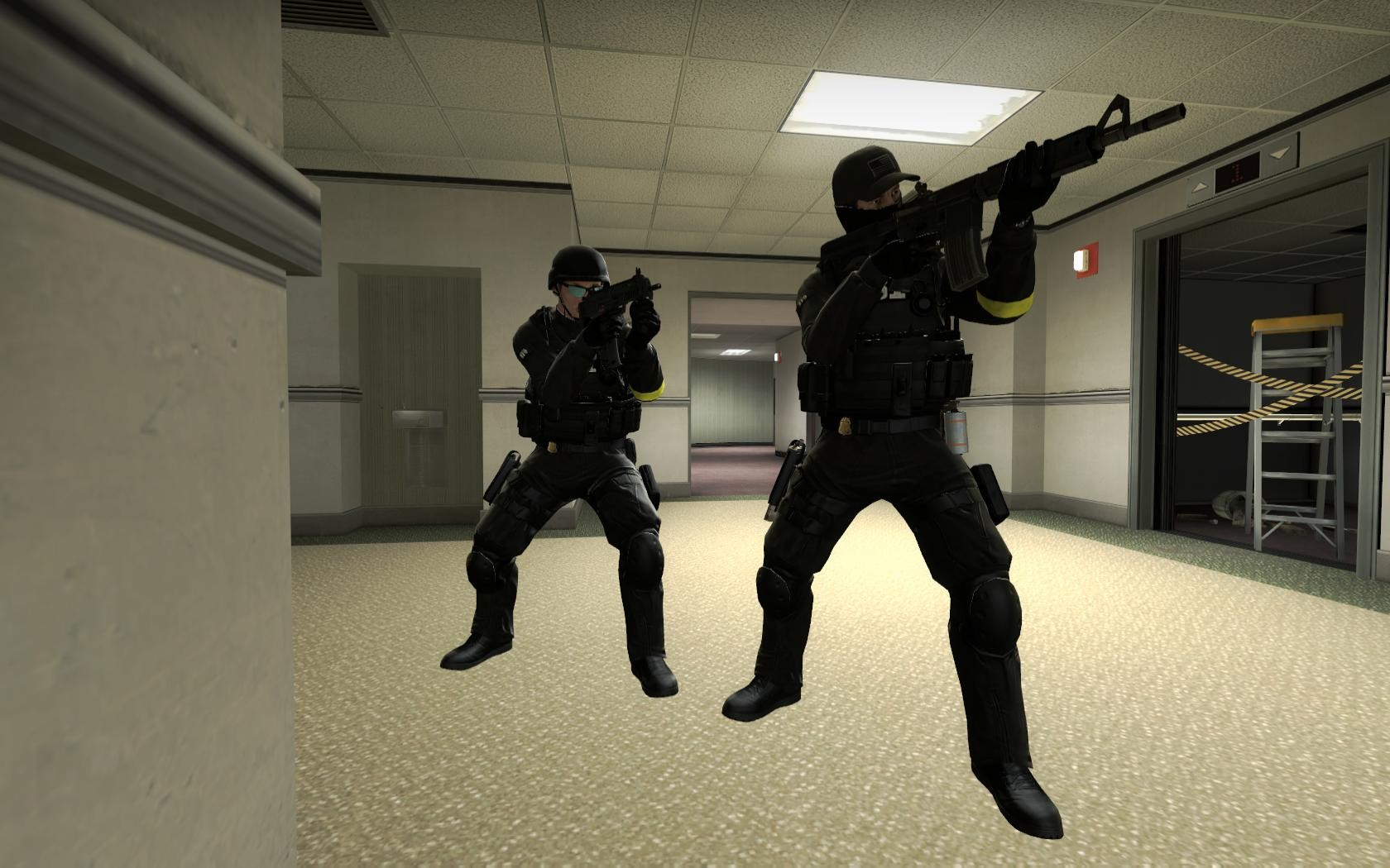 Counter-Strike: Global Offensive Addon - FBI SWAT screenshot 2