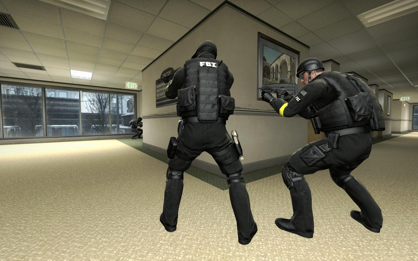 Counter-Strike: Global Offensive Addon - FBI SWAT screenshot 3