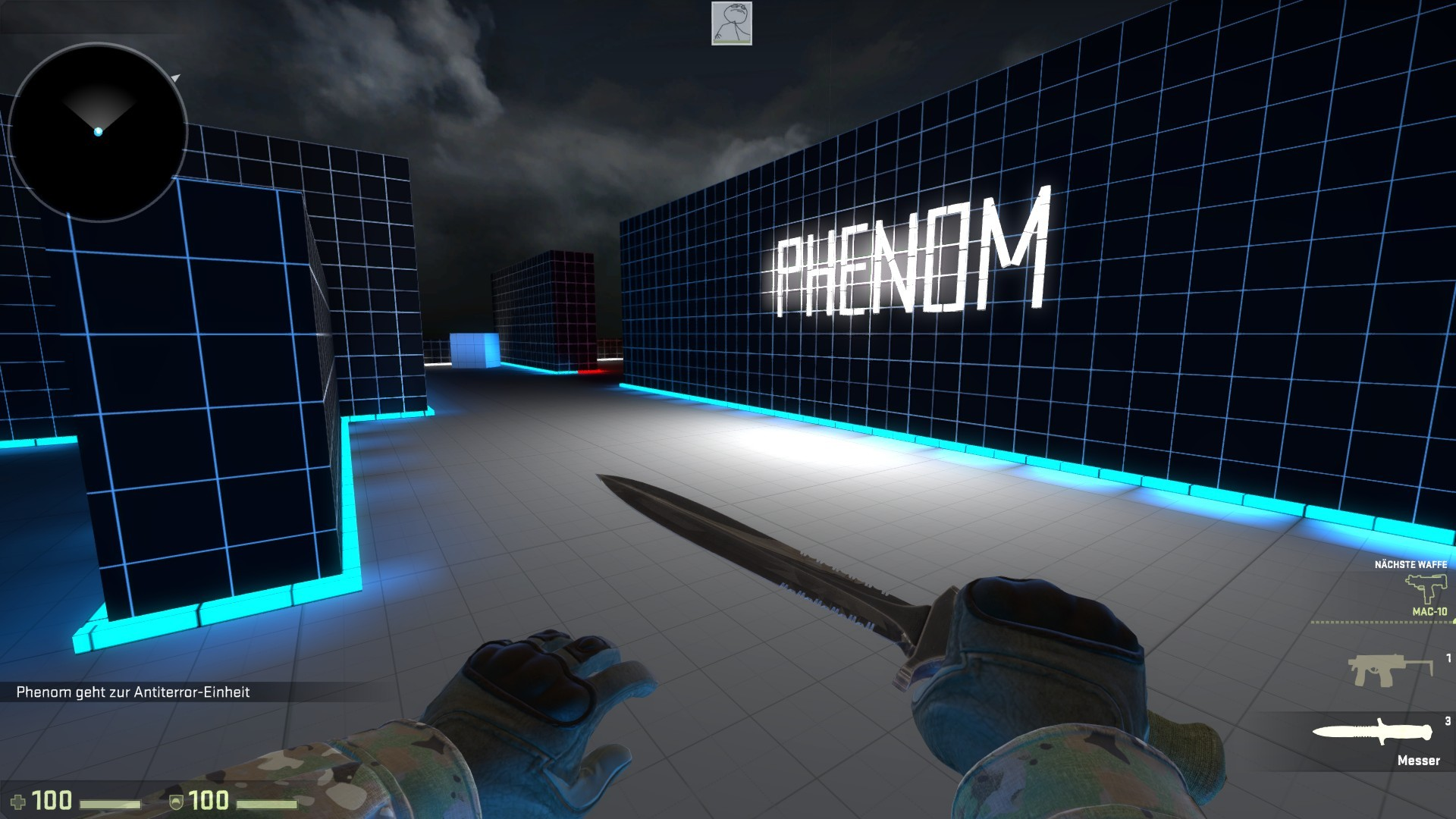 Counter-Strike: Global Offensive Map - aim_neonlight screenshot 2