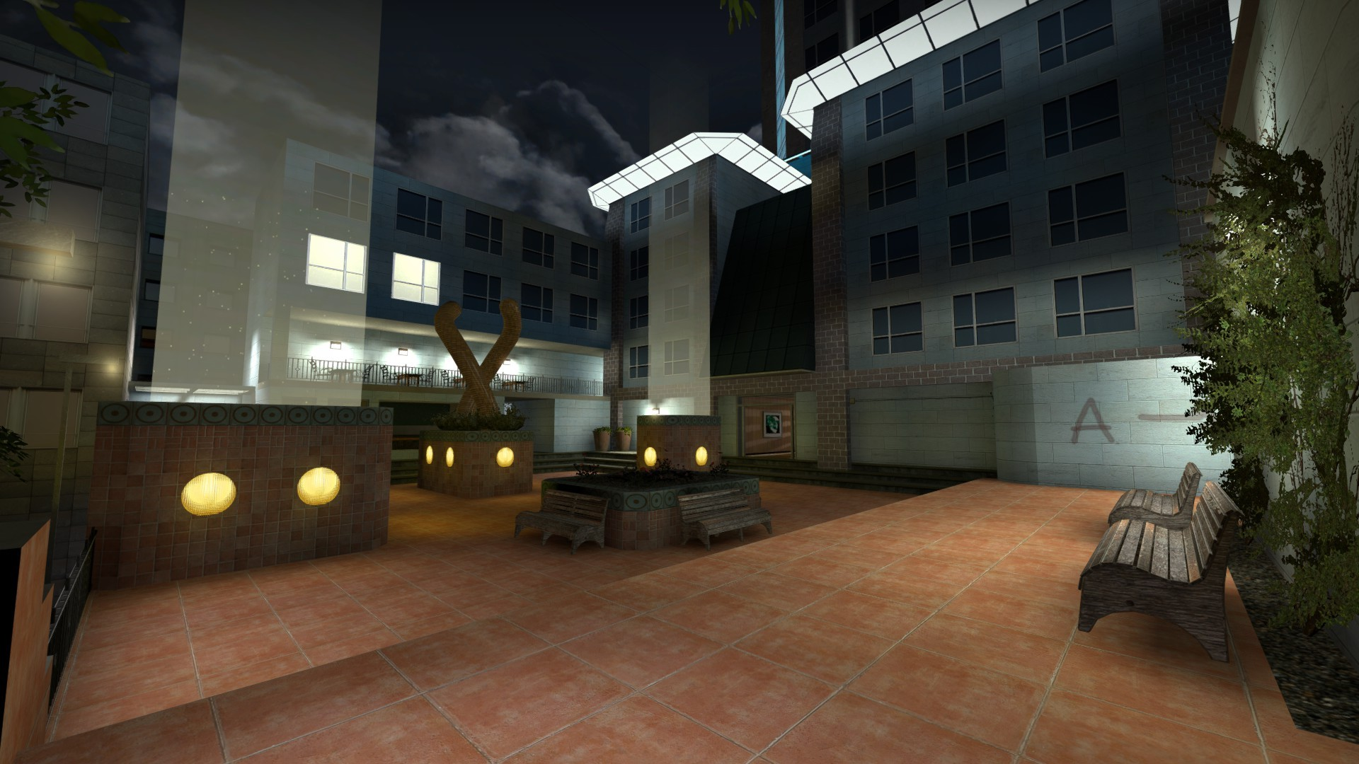 Counter-Strike: Global Offensive Map - de_nightfever_beta screenshot 3