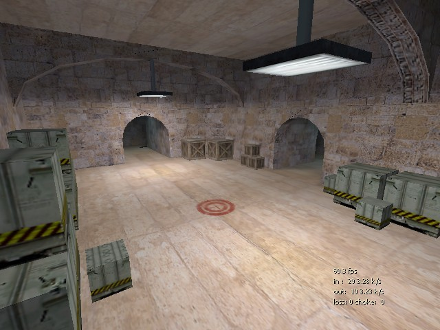 Counter-Strike Map - 2dustyfort screenshot 2