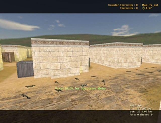 Counter-Strike Map - Fy_Out screenshot 1