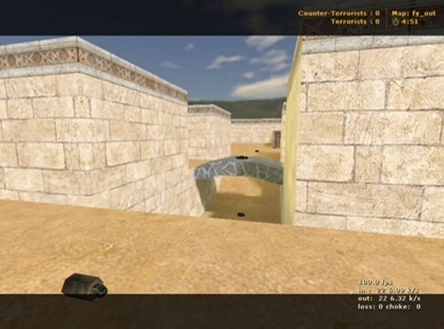 Counter-Strike Map - Fy_Out screenshot 2