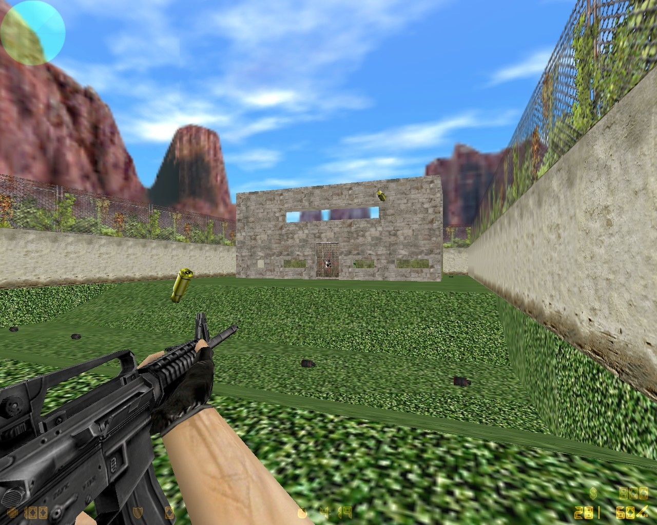 Counter-Strike Map - aim_grassyard screenshot 2