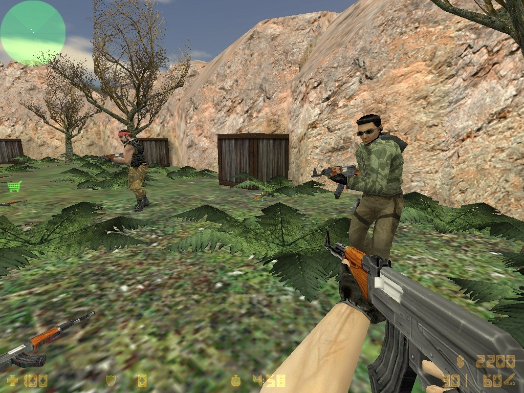 Counter-Strike Map - aim_no_mato screenshot 1