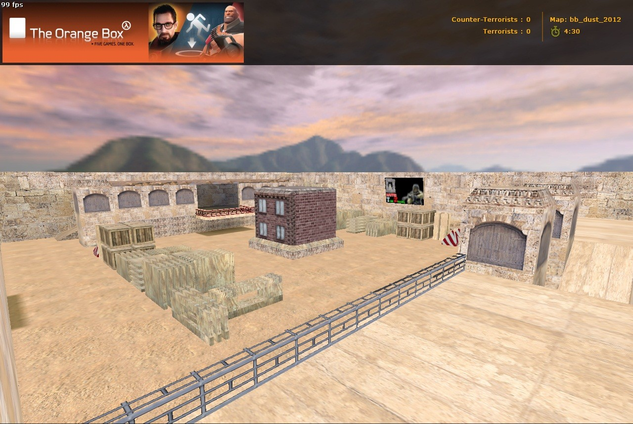 Counter-Strike Map - bb_dust_2012 screenshot 1
