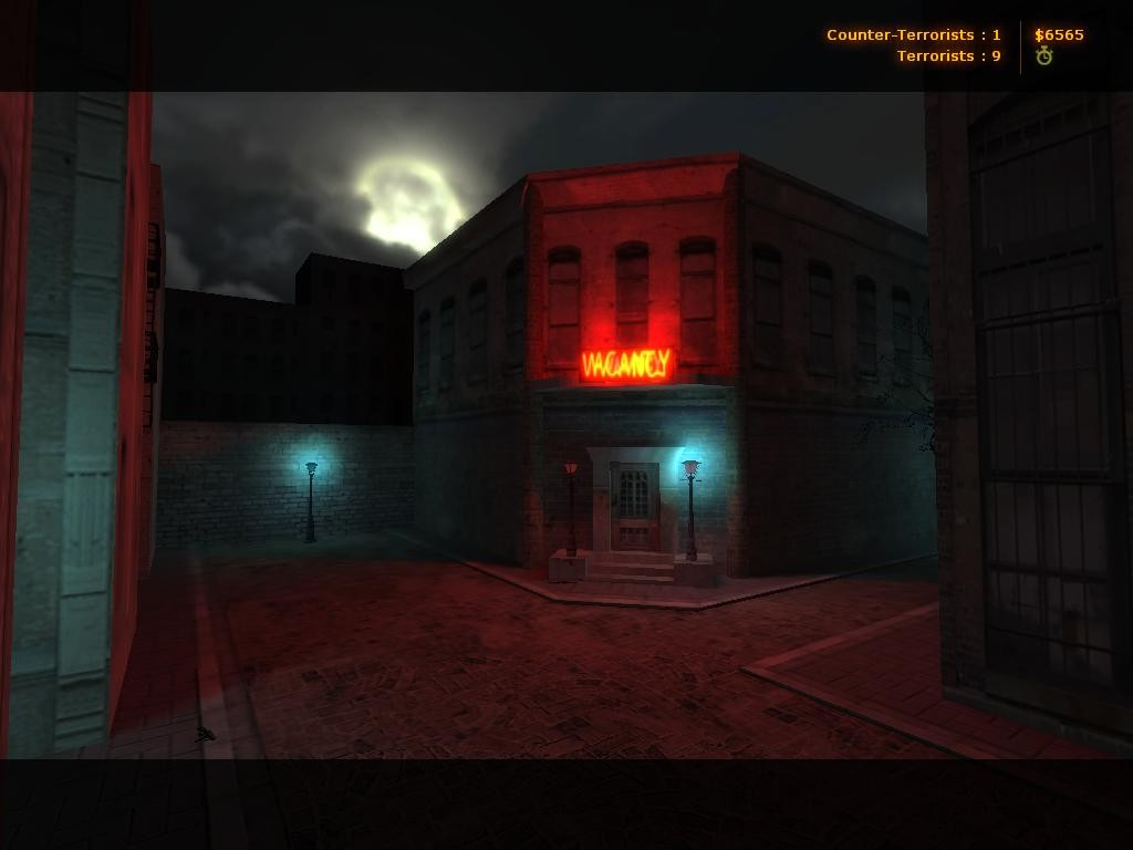 Counter-Strike Map - de_dark_city screenshot 2