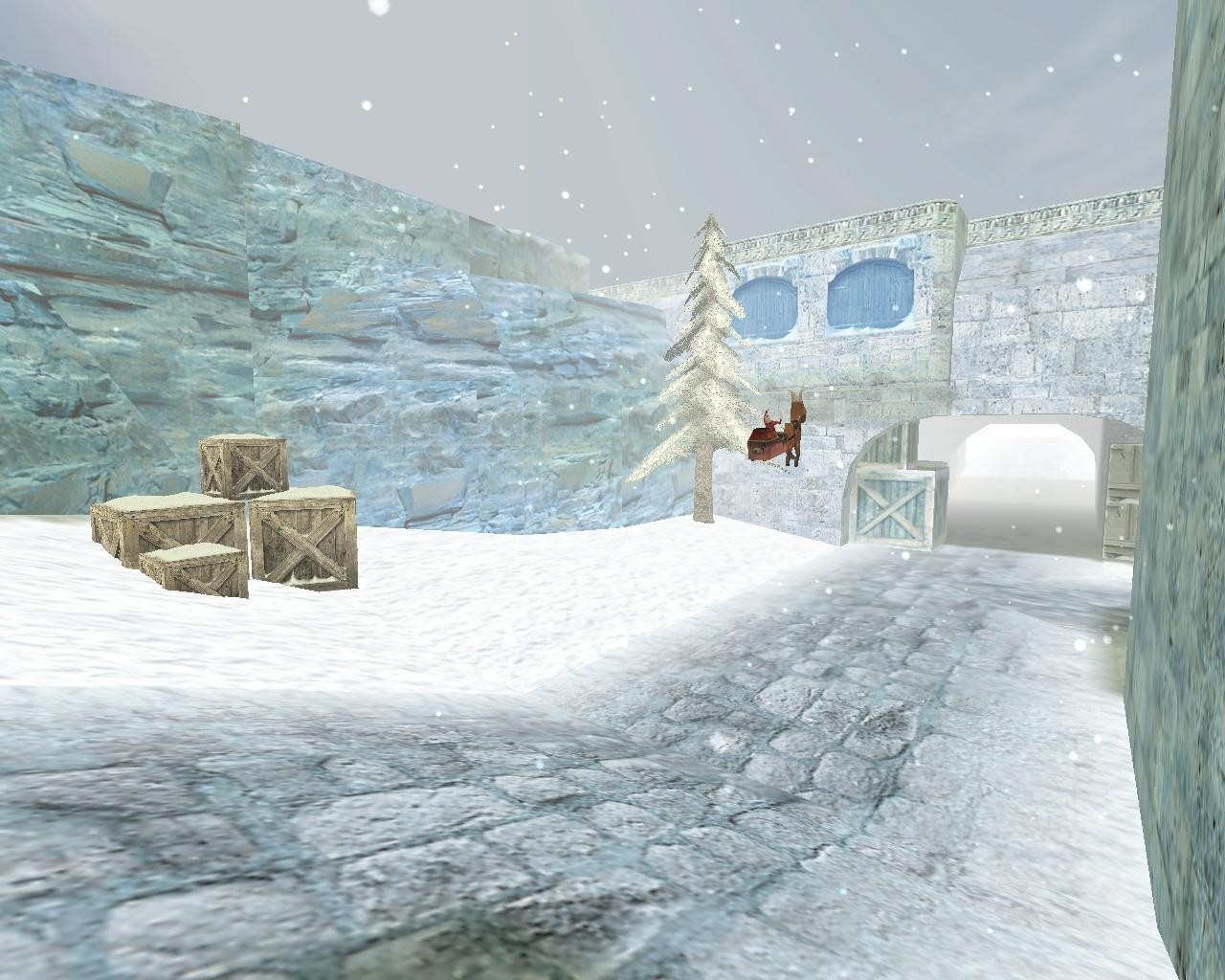 Counter-Strike Map - de_dust2_newyear screenshot 2