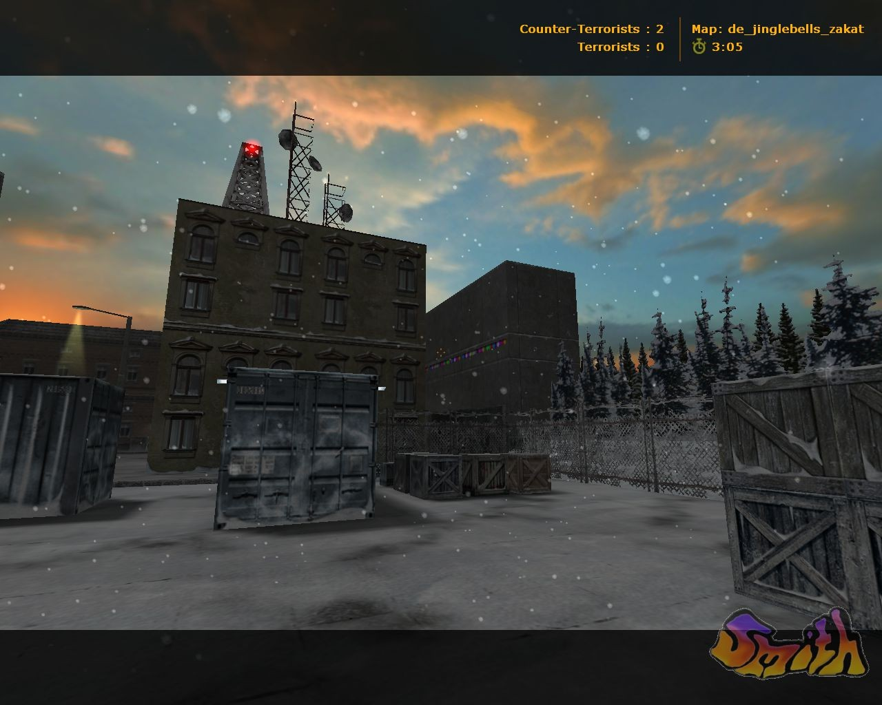 Counter-Strike Map - de_jinglebells_zakat screenshot 2
