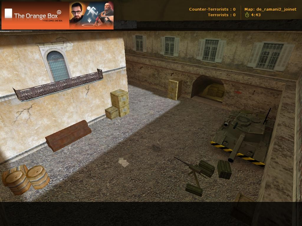 Counter-Strike Map - de_ramani2 screenshot 2