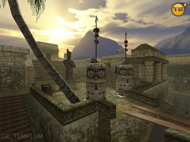 Counter-Strike Map - de_templum screenshot 1