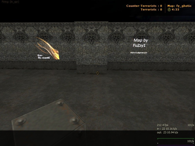 Counter-Strike Map - fy_ghotic_dRk screenshot 2