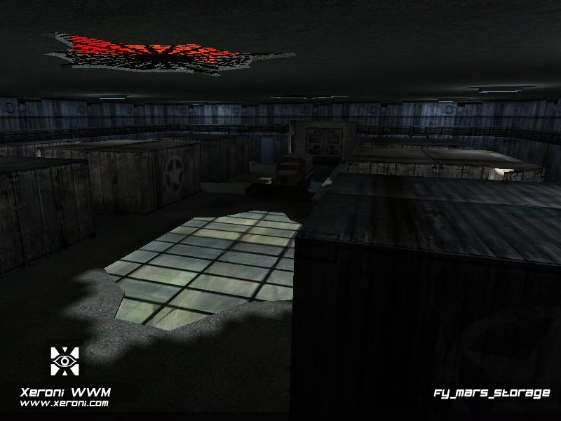 Counter-Strike Map - fy_mars_storage screenshot 1