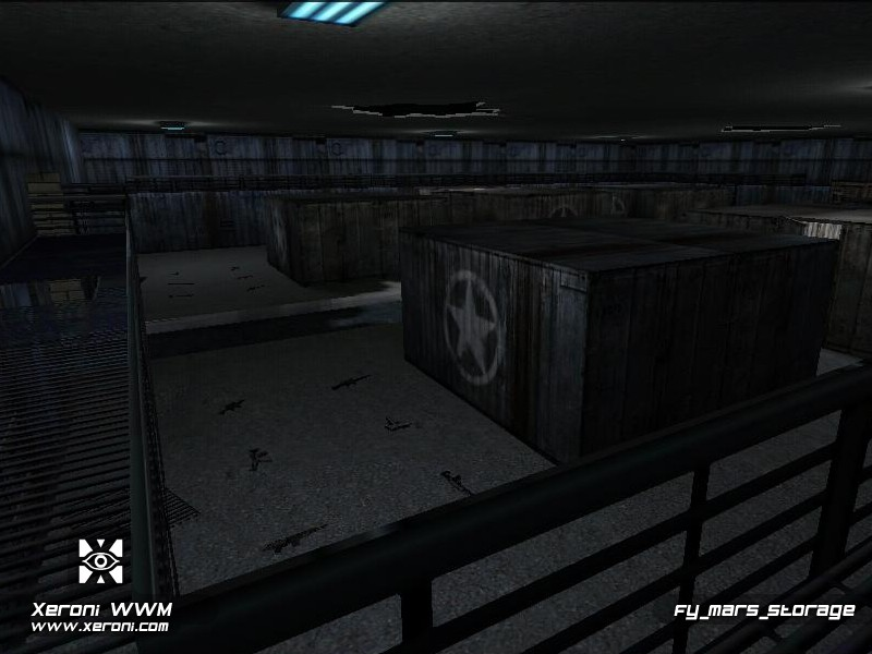 Counter-Strike Map - fy_mars_storage screenshot 2