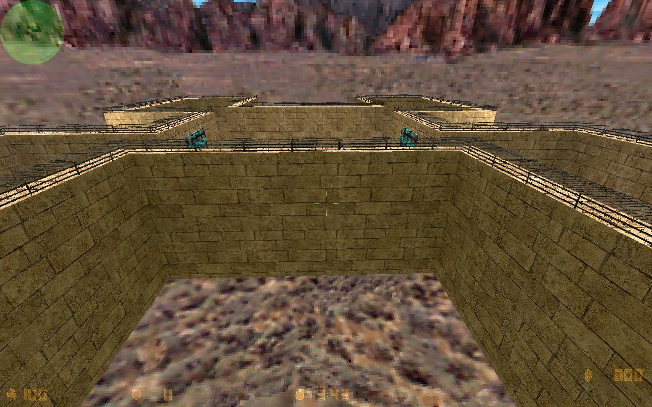 Counter-Strike Map - paintball_azurro2 screenshot 2