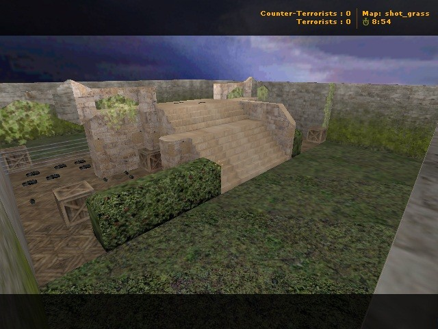 Counter-Strike Map - shot_grass screenshot 1