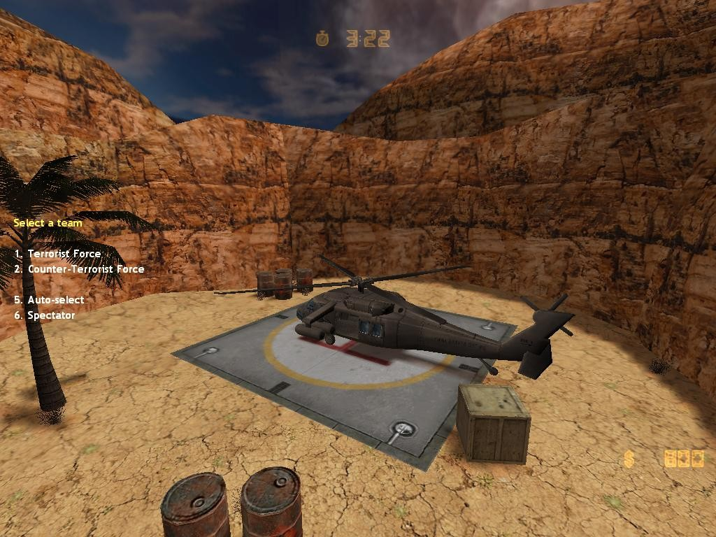 Counter-Strike Map - ze_labs076 screenshot 1