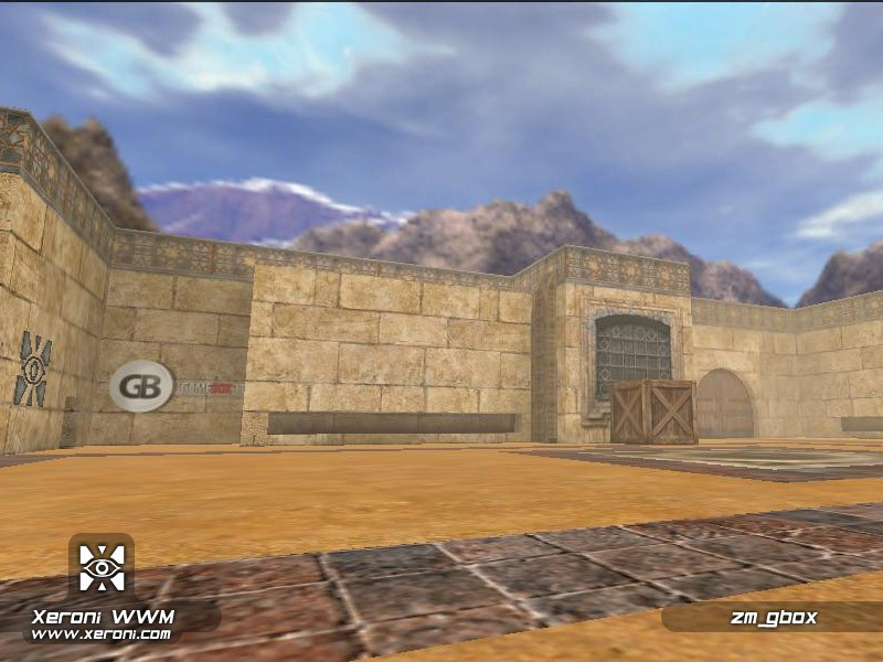 Counter-Strike Map - zm_gbox screenshot 2