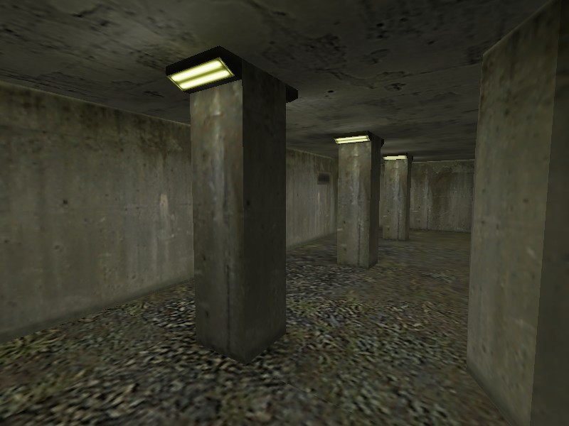 Counter-Strike Map - zm_trainsanity screenshot 1