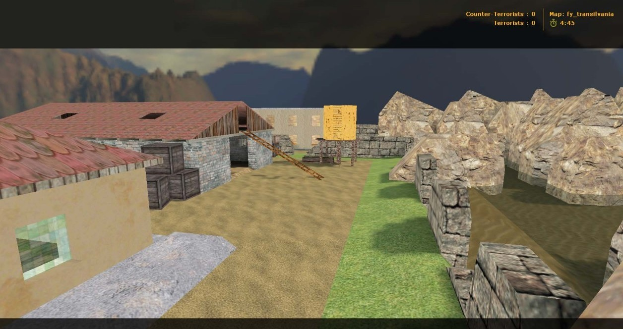 Counter-Strike Map - fy_transilvania screenshot 1